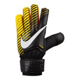 Nike Goalkeeper Spyne Pro Soccer Gloves - Black/Laser Orange/White