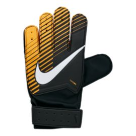 Nike Junior Goalkeeper Match Soccer Gloves - Black/Laser Orange/White