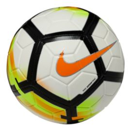 Nike Strike Soccer Ball - White/Laser Orange/Black