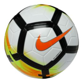 Nike Ordem V Soccer Ball - White/Solar Orange