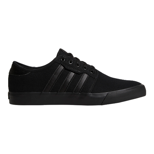 454617a04 adidas Men s Seeley (Canvas) Skate Shoes - Black