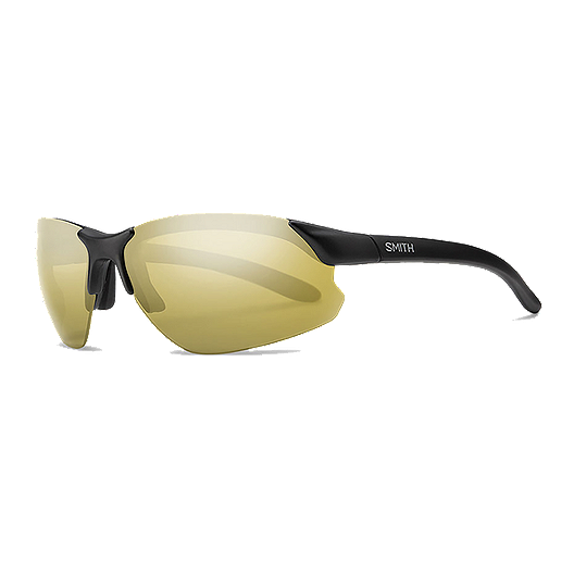 c18a8acbb048 Smith Parallel D Max Polarized Sunglasses- Matte Black with Gold Mirror  Lenses | Sport Chek