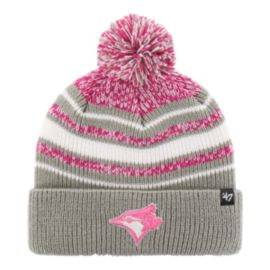 Toronto Blue Jays Girls' Bubbler Cuff Pom Knit
