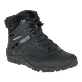 Merrell Women's Aurora 6 Ice+ Waterproof Winter Boots - Black