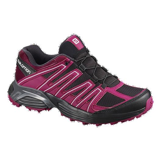 a75a1967fedd Salomon Women s Maido XT Running Shoes - Black Pink Red