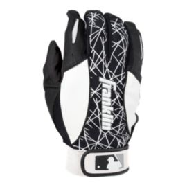 Franklin Youth 2nd Skinz Youth Batting Gloves - Black/White