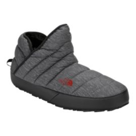 The North Face Men's Thermoball Traction Bootie Shoes - Grey Print