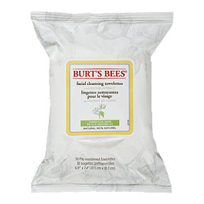 Burts Bees Cleansing Towlettes - Sensitive