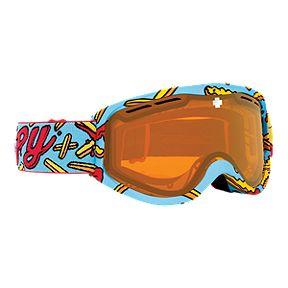 2cdc0e012250 Spy Cadet Junior Ski   Snowboard Goggles 2017 18 - Pizza vs Fries with  Persimmon