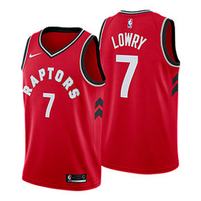 Toronto Raptors Kyle Lowry Swingman Icon Basketball Jersey