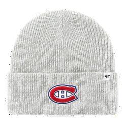 d107302082c Montreal Canadiens  47 Brand Brain Freeze Cuff Knit Beanie