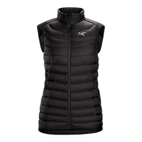 36442216db Arc teryx Women s Cerium LT Down Insulated Vest - Black