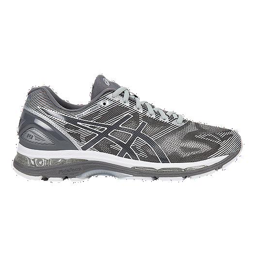 sélection premium 4d2f1 7f29e ASICS Men's Gel Nimbus 19 Running Shoes - Grey/White/Silver