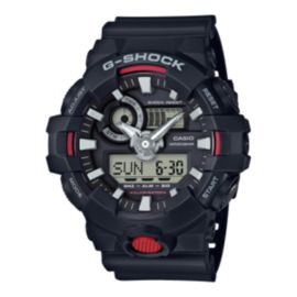 Casio G-Shock GA-700 Watch - Black/Red
