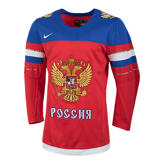 3d1840a4d Team Russia Nike Olympic Replica Hockey Jersey   Sport Chek