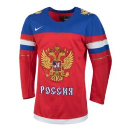 Team Russia Nike Olympic Replica Hockey Jersey