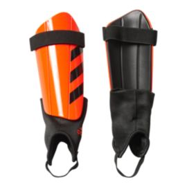 adidas Ghost Club Shin Guards - Solar Red/Black