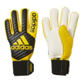 adidas Classic Pro Goalkeeper Gloves - Core Black/EQT Yellow