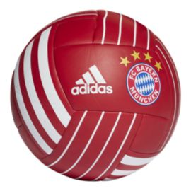 adidas FC Bayern Munich Fan Ball - True Red/White
