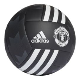 adidas Manchester United FC Fan Ball - Black/White
