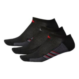 adidas Men's Climacool Superlite No Show Socks - 3-Pack