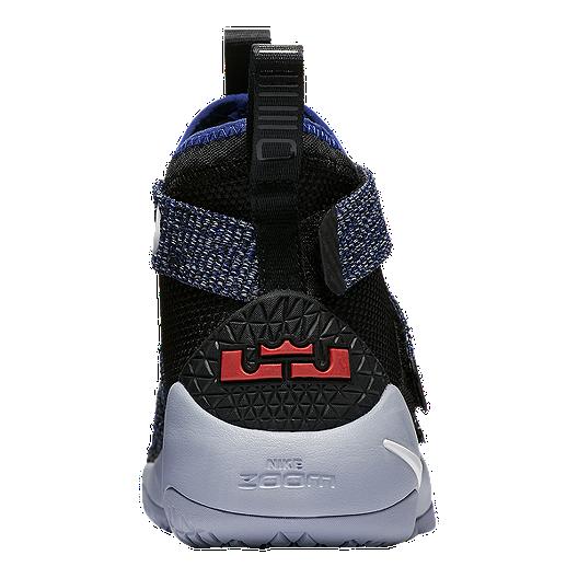 detailed look 63864 3c2d4 Nike Kids' LeBron Soldier XI Grade School Basketball Shoes ...