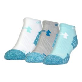 Under Armour Women's Elevated Performance No Show Socks 3 - Pack