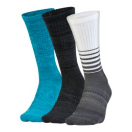Under Armour Men's Phenom Twisted Crew Socks - 3 Pack