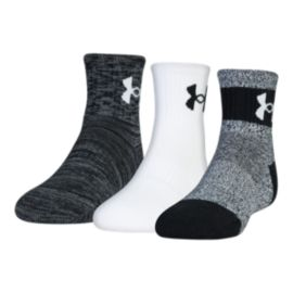 Under Armour Men's Phenom Quarter Length Socks - 3 Pack