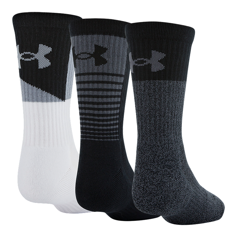Sport Chek Heated Gloves: Under Armour Men's Phenom 3.0 Crew Socks - 3 Pack