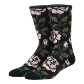 Stance Men's Sidestep Rosie Crew Socks - Black