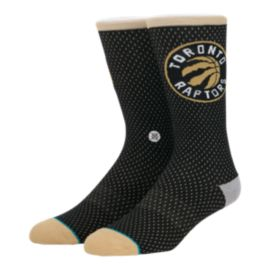 Stance Men's Hoops Raptors Jersey Crew Socks - Gold