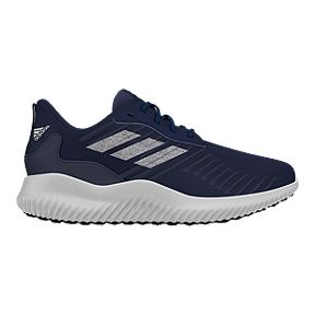san francisco 9fd3b 2a4cf adidas Kids Alphabounce RC Grade School Running Shoes - NavySilverWhite