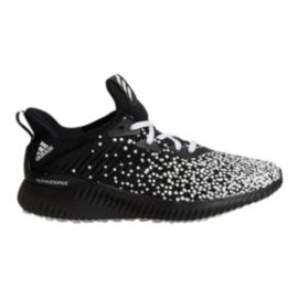 adidas Kids' Alphabounce Aramis All Over Print Grade School Shoes - Black/White