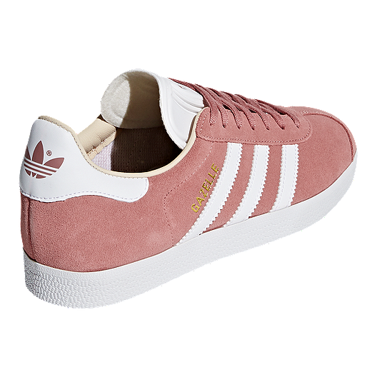 69821fe1579 adidas Women s Gazelle Shoes - Ash Pearl White. (1). View Description