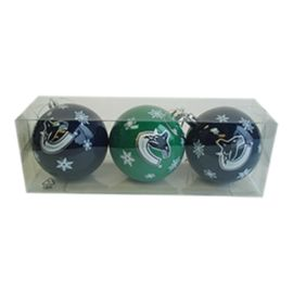 Vancouver Canucks Ornament Set - 3-Pack