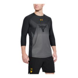 Under Armour Men's Project Rock Vanish 3/4 Training Shirt