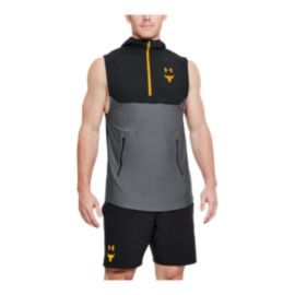 Under Armour Men's Project Rock Vanish Sleeveless Training Hoodie