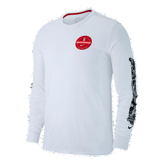 f8e291af Nike Dry Men's Kyrie Long Sleeve Basketball Shirt | Sport Chek