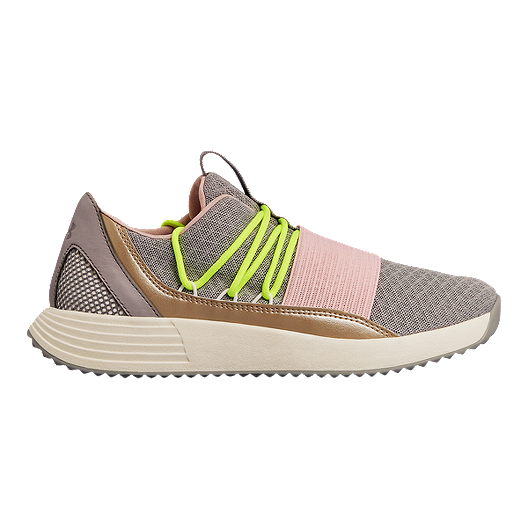 b1bc432649c Under Armour Women s Breath Lace Training Shoes - Tin Ivory