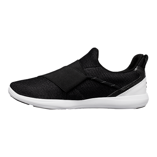 5262f38eab1 Under Armour Women s Precision X Training Shoes - Black White ...