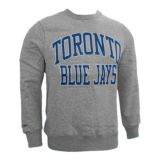 detailed look 14125 6279f Toronto Blue Jays Mitchell and Ness Playoff Win Crew Top