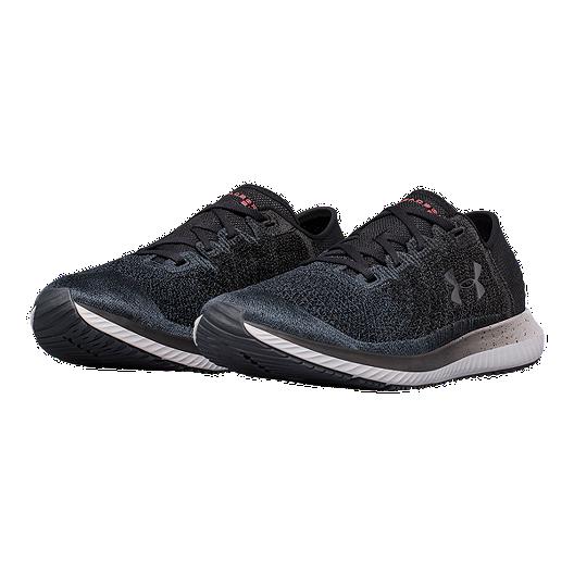 4a3a979f1 Under Armour Men s Threadborne Blur Running Shoes - Anthracite Black ...