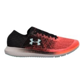 Under Armour Men's Threadborne Blur Running Shoes - Orange/Black/Blue