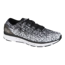 Under Armour Men's Charged Bandit 3 Ombre Running Shoes - White/Black