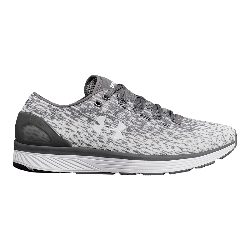29df58dcaa Under Armour Men's Charged Bandit 3 Ombre Running Shoes - Zinc Grey ...