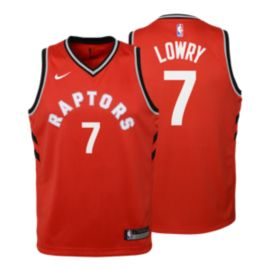 Toronto Raptors Kids' Kyle Lowry Icon Swingman Basketball Jersey