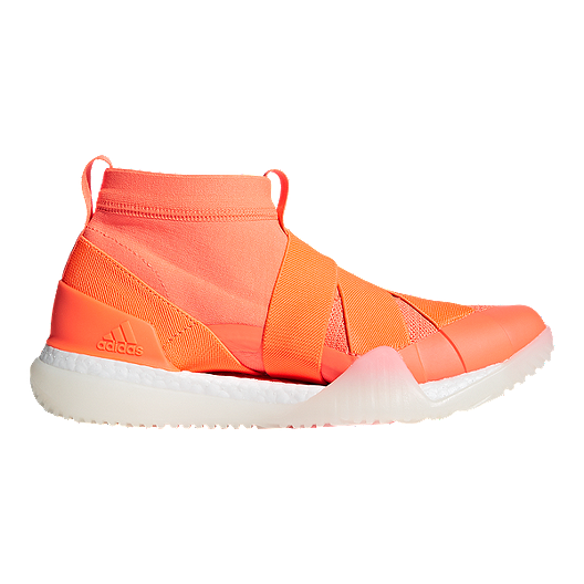 0ed2d241f adidas Women s Pure Boost X TR 3.0 LL Training Shoes - Orange White ...