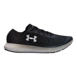 Under Armour Women's Threadborne Blur Running Shoes - Black/Grey