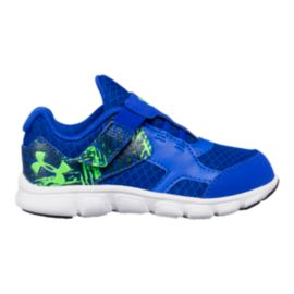 Under Armour Toddler Thrill RN AC Shoes - Blue/Green
